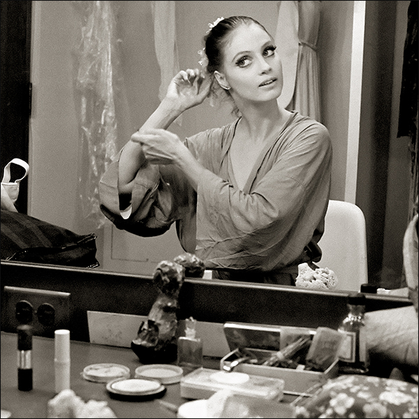 Dance Photography Suzanne Farrell Dressing Room